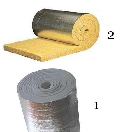 Рис.13. Материалы для улучшения теплоизоляционных свойств минералова