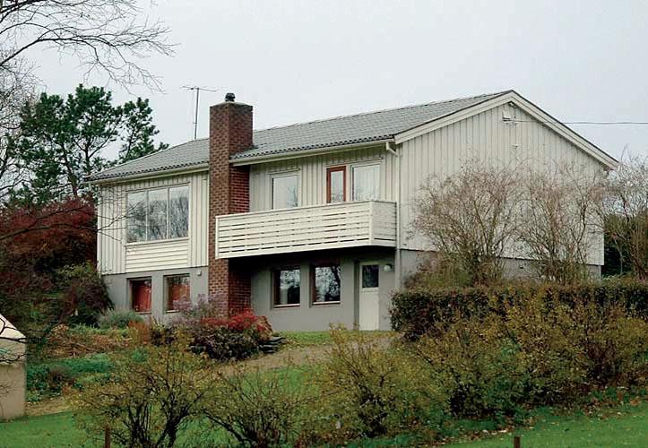 Этот дом был построен в 1960 году по каркасно-панельной технологии, которую многие считают «современной»