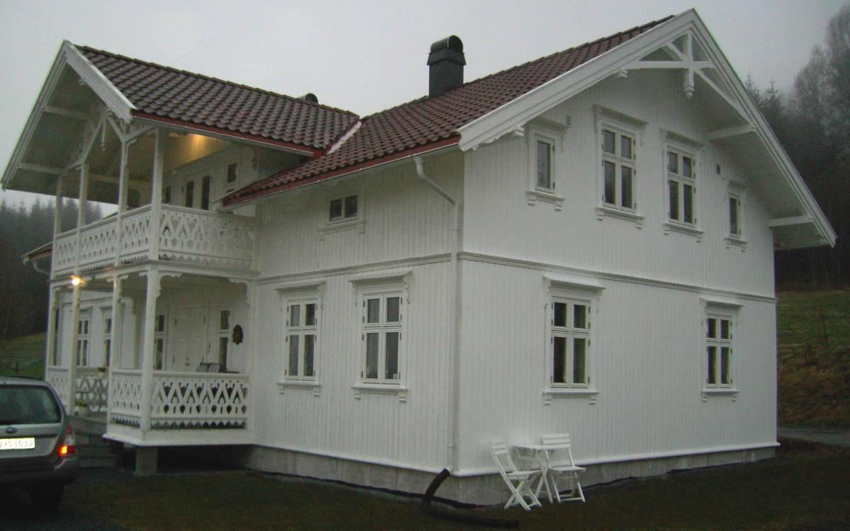 Фасады скандинавских домов