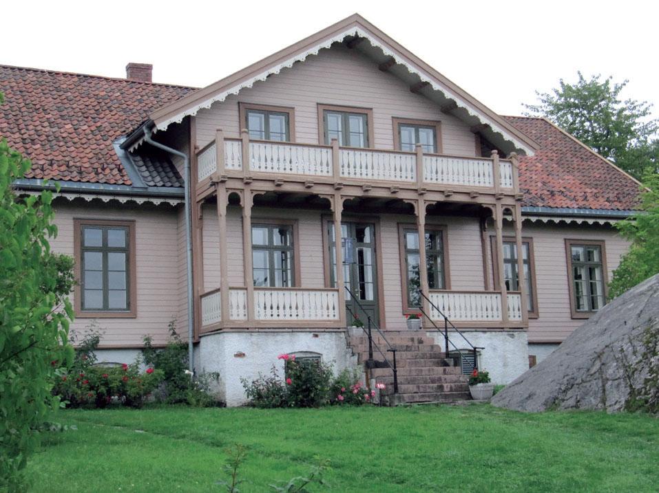 Kommandantboligen был построен в крепости Оскарсборг в 1854 году.