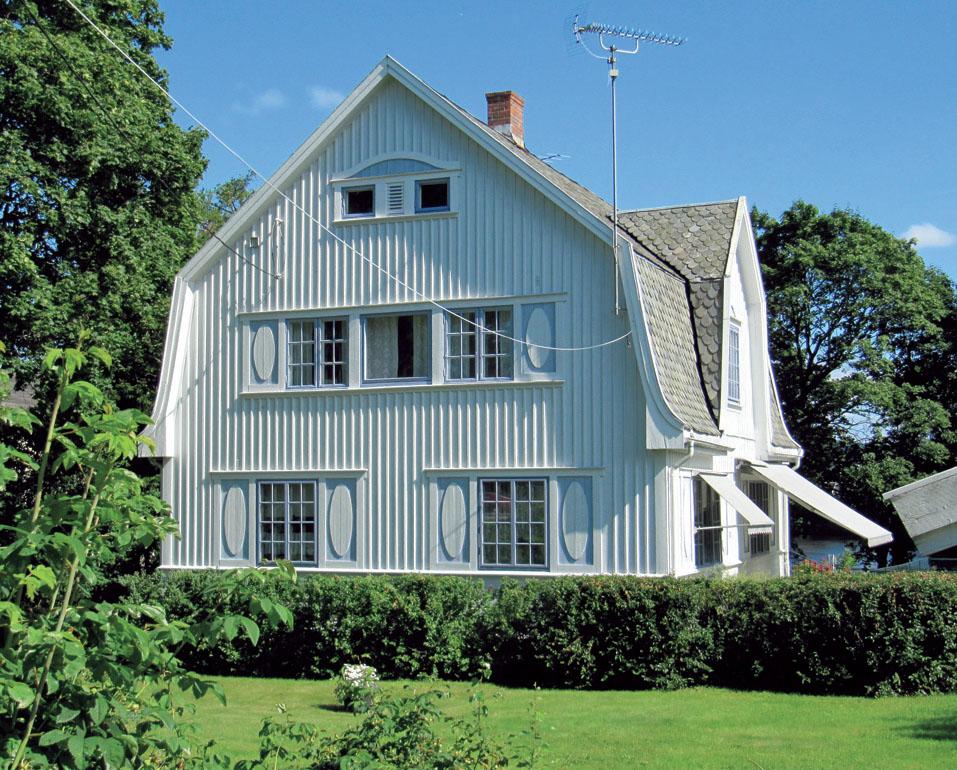 Недолговечность каркасных домов. Этот загородный дом был построен в 1900 году