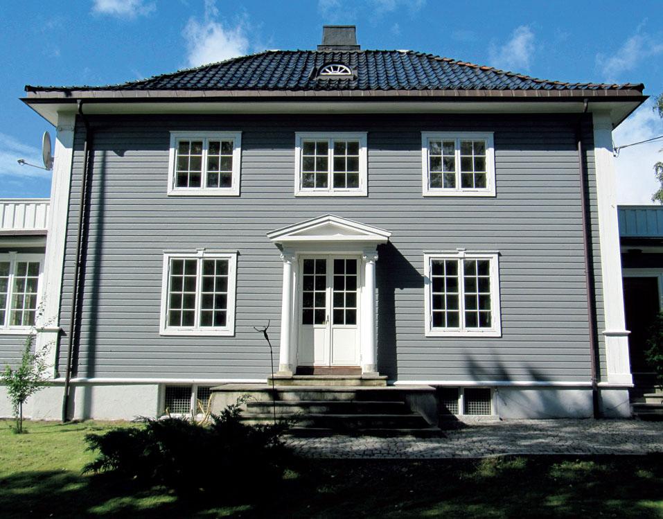 Этот дом был построен в 1920 году и прекрасно сохранился до сих пор.
