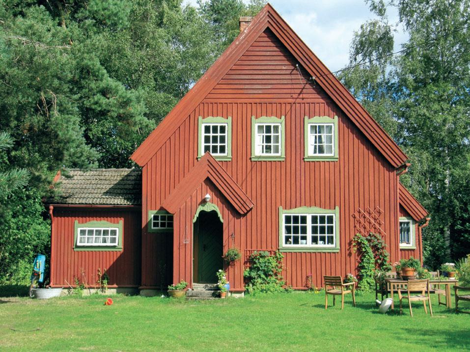 Недолговечность каркасных домов. Эта вилла была построена примерно в 1700 году