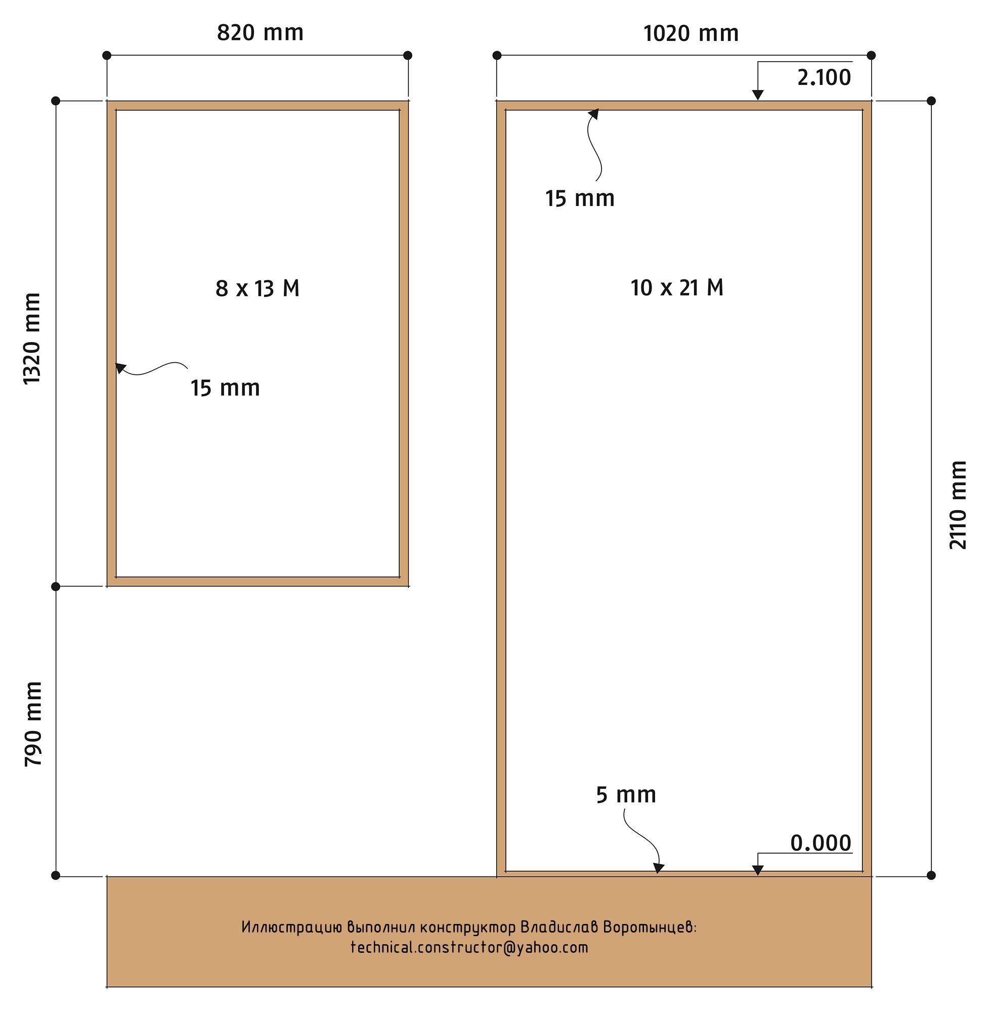 Рис. 9.19 Толщина монтажных зазоров, стандартная высота дверной / оконной перемычки от уровня чистового пола. Размеры дверных и оконных проёмов. Монтажные зазоры