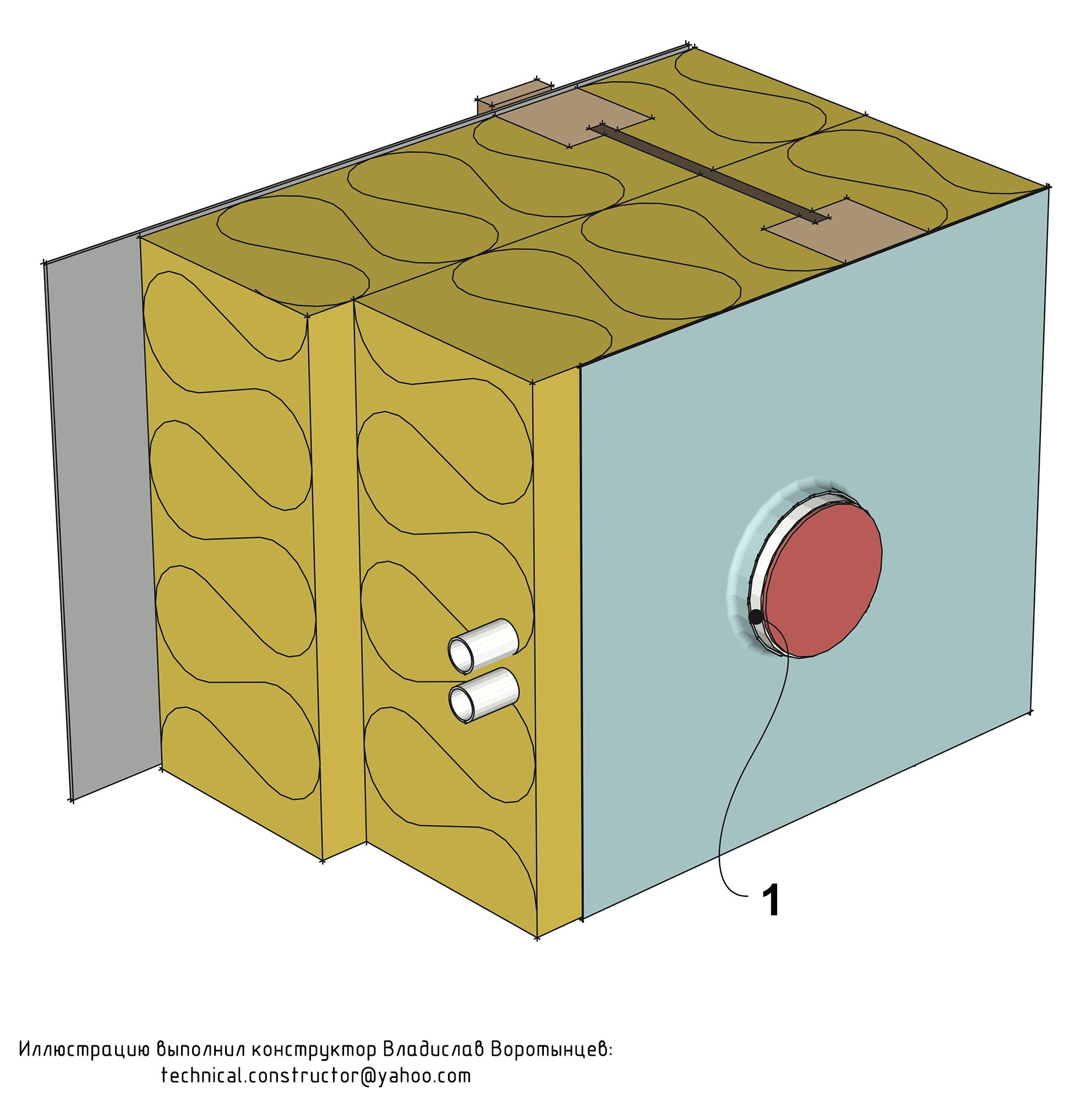 Пароизоляция стены должна плотно облегать электрическую распределительную коробку